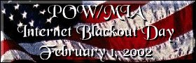 POW/MIA Internet Blackout Day